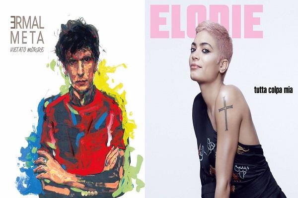 Sanremo 2017 news cantanti, Elodie e Ermal Meta svelano le copertine dei nuovi album